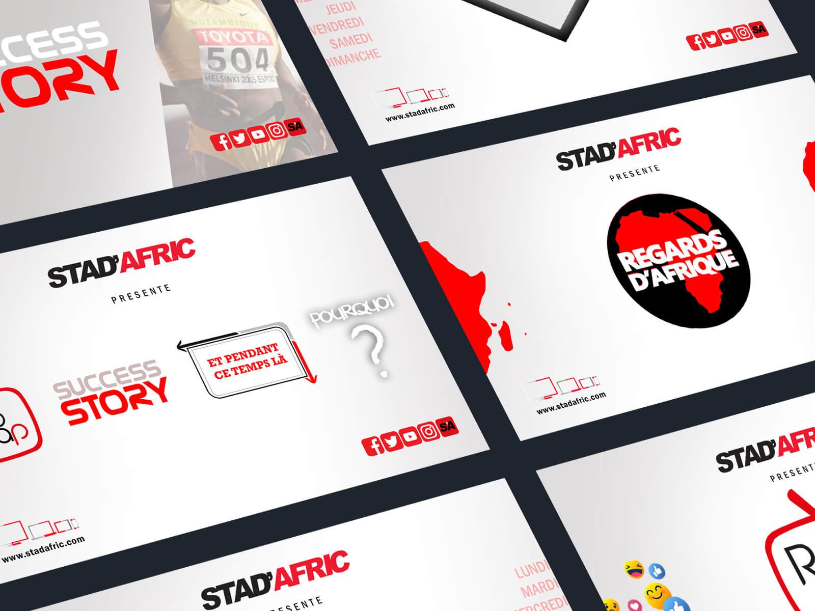 Stad'Afric, la première chaîne de Sport d'Afrique
