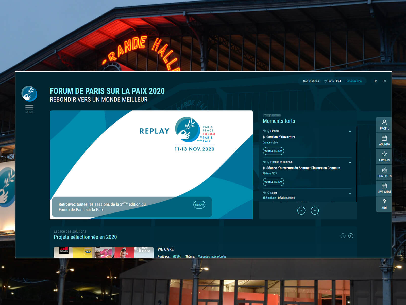 Hybricks : La nouvelle plateforme de gestion évenementielle en distanciel