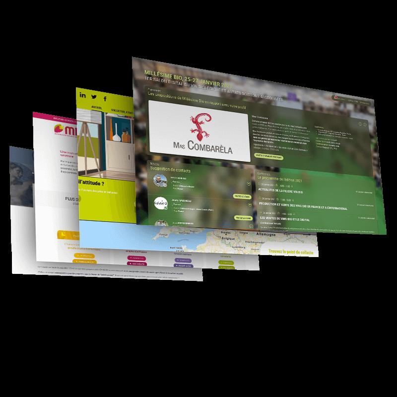 Nous conseillons et opérons des campagnes de Stratégies Digitales : Emailings, SEA, SEO technique et sémantique, Réseaux sociaux et community management