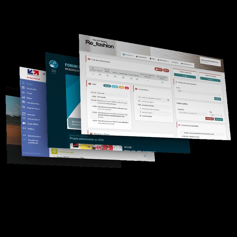 Nous conseillons et développons des systèmes d'information performants et pérennes avec du bigdata